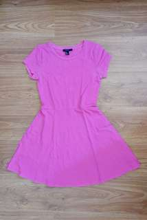 Forever 21 pink casual dress
