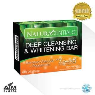 Deep Cleansing & Whitening Bar (NATURACENTIALS)