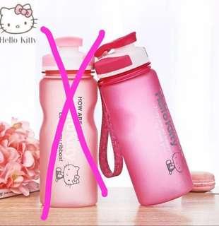 Limited Edition Anti Break Hello Kitty Tea / Infusion Water Bottle 600 ML