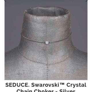 Swarovski choker