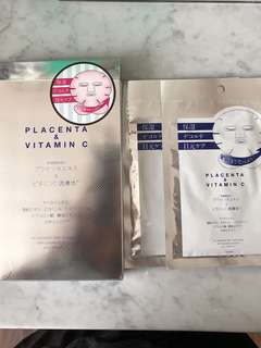 Plift Japanese Placenta Vitamin C Masker