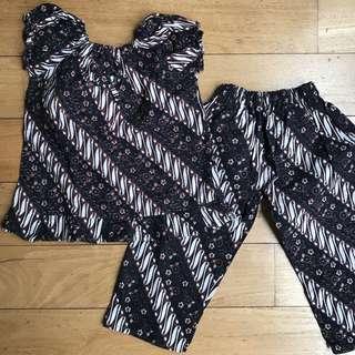 Batik Set for 1.5yr