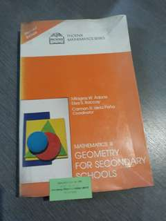 Geometry for Secondary Schools