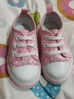 Sugar Kids Pink Floral Rubber Shoes