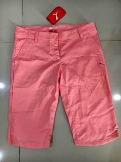 Celana Golf Pink Puma Asli Size 28