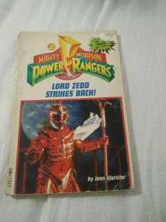 Mighty morphin power ranger:lord Zedd strikes back