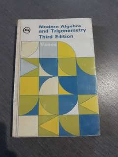 Modern Algebra and Trigonometry