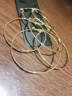 耳環 (一個50,全部帶走只要100)
