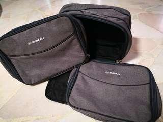 3pcs for $15. Subaru expandable bag