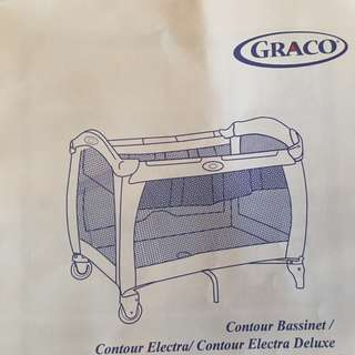 Travel Cot Infant and Child - Graco