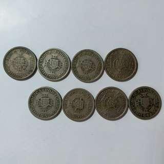 澳門舊硬幣:1952年5亳