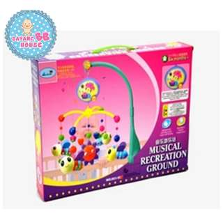 Colorful Baby Toy Bee Shape Musical Recreation Ground To Make Baby Happy And Enjoy
