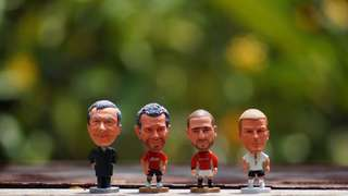 Soccer figurines