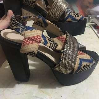 Jellybean heels/sandals