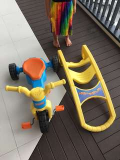 Fisher price 3 in 1 little tricycle