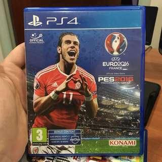 PS4 PES 2016