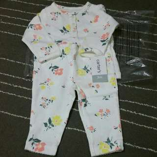 Carters Girl 3m Long Sleeves With Long Pant