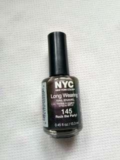 Authentic NYC Long wearing nail polish