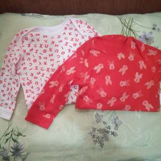 Uniqlo Minnie Mouse sleepwear