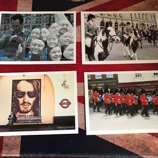 英國明信片x14