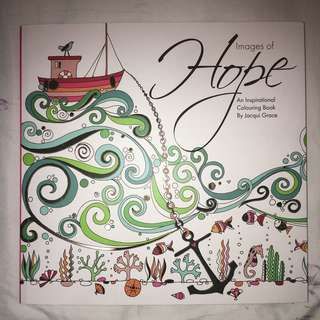 Christian Colouring Book- Images of Hope