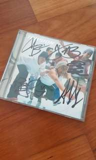 Tension - music album with autographs