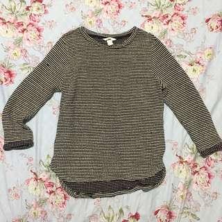 H&M crochet pullover