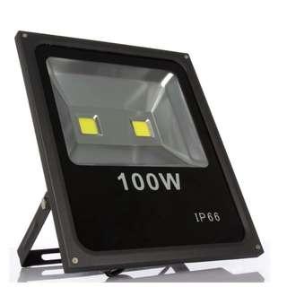 100W LED Flood Light - 2 Years Warranty
