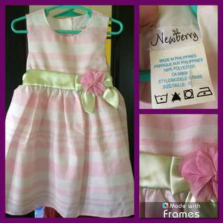Newberry party dress for little girl