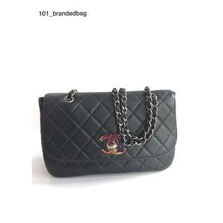 Chanel Caviar Curve Flap Bag