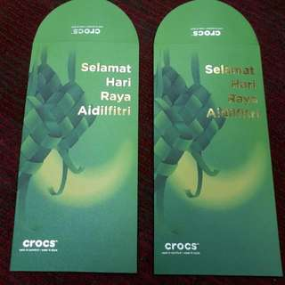 Angpao Packet Sampul Raya Crocs Shoes Malaysia