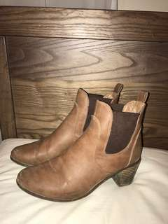 Wilson Brown Leather Boots