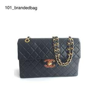 Chanel Calfskin Rare Vintage Jumbo Maxi Flap Bag