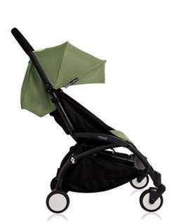 Yoyo 6+ (peppermint green) + stroller travel bag + rain cover