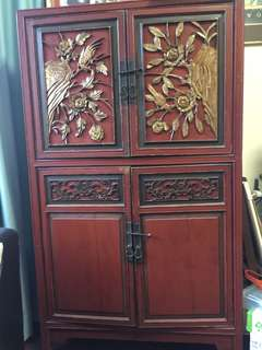 Limited Edition Genuine Shanxi Antique Cabinet