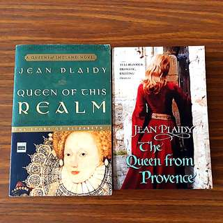2 for $10: By Jean Plaidy: Queen of This Realm; The Queen from Provence