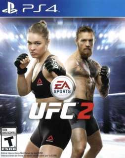 ( UFC 2 ) PS4 Original Game