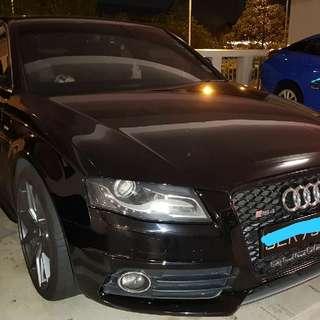 AUDI A4 3.2A V6 S-LINE HIGH SPEC QUATTRO