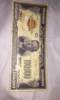 old money 100,000 usd