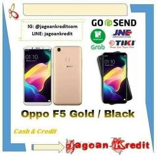 Oppo F5 Black / Gold Cash dan Kredit Tanpa Kartu Kredit