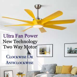 60 Inch Designer Fan - New Technology with Ultra Power