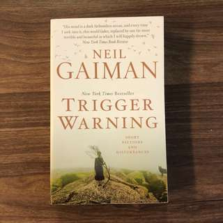 Trigger Warning (Short Stories) by Neil Gaiman