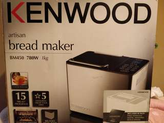 Back in Box Kenwood Breadmaker BM350