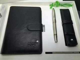 Mont blanc organiser and pen