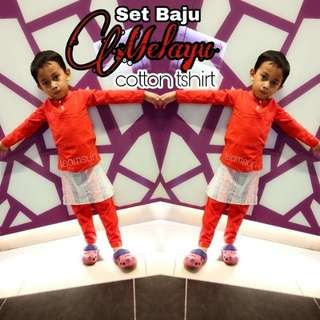 Baju Melayu Bersampin (5/6y)