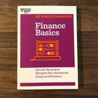 Finance Basics (HBR 20-Minute Manager Series) : Decode the Jargon Navigate Key Statements Gauge Performance