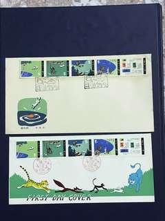 China Stamp- 1980 T51 A/B FDC
