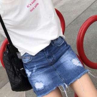 🚚 牛仔裙褲裙✅