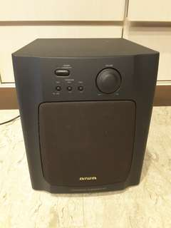 AIWA active speaker system (used)