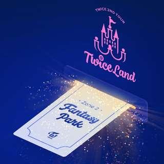 Twice concert ticket